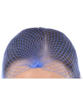 Hair Nets Blue Metal Free - Pack Of 100