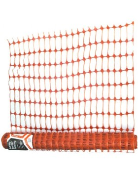 Orange Barrier Mesh Fencing 50 Metre