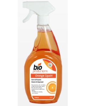 Bio Orange Squirt Cleaner And Degreaser Spray