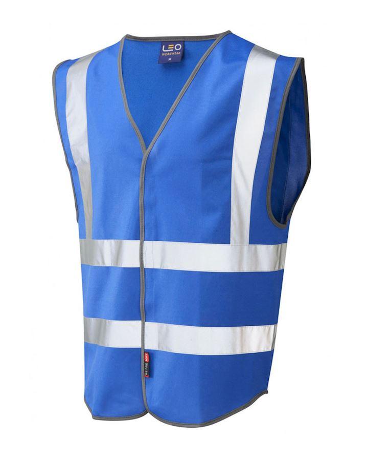 Royal Blue Hi Vis Waistcoat - Vest