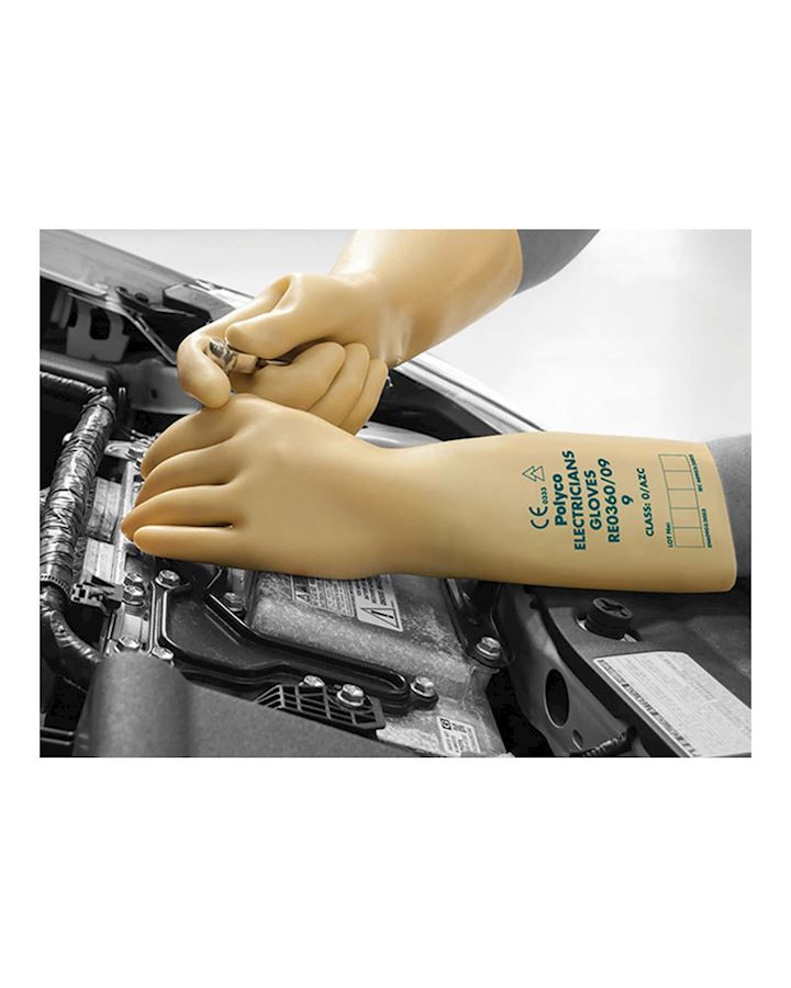 Electricians Gloves Class 0 1000V