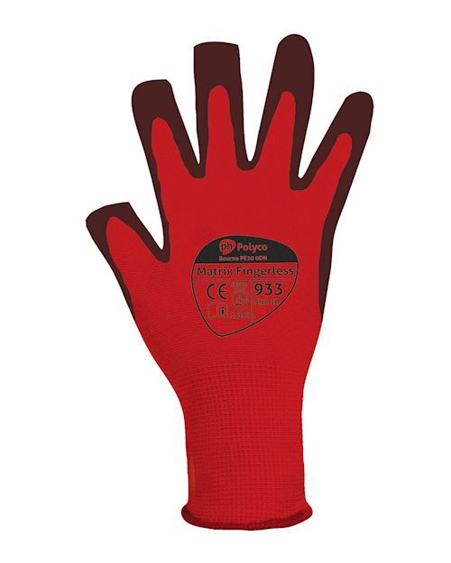 Matrix 933 Fingerless Glove - Large