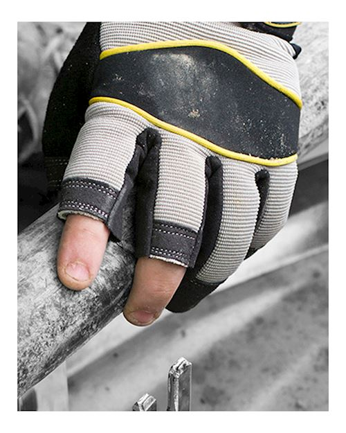 Multi-Task 3 Open Fingered Glove - Fingerless Glove