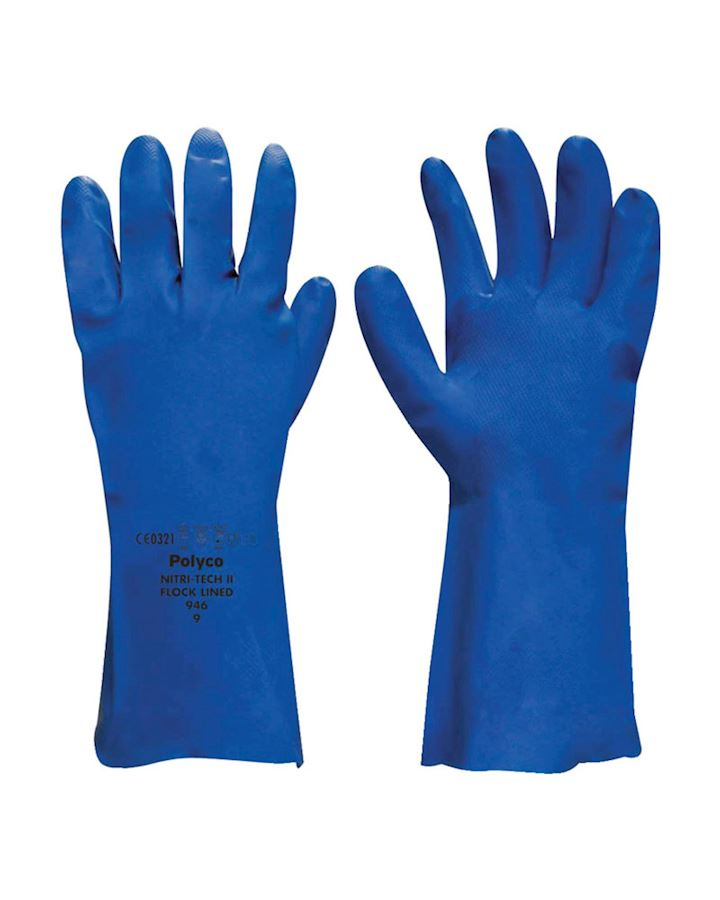 Polyco Nitri-Tech III Nitrile Glove