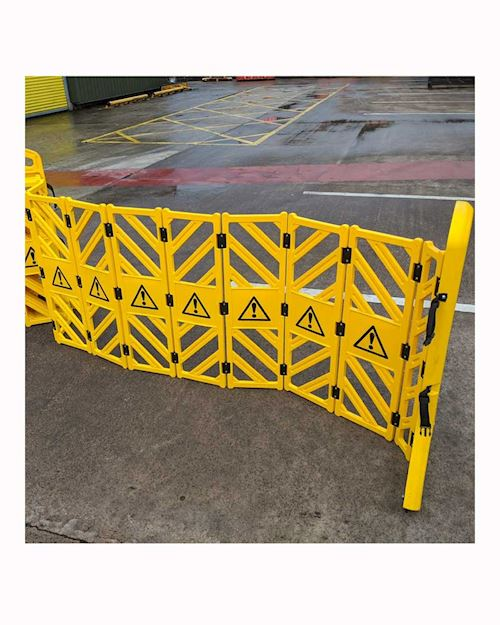 Expanding Mobile Concertina Barrier
