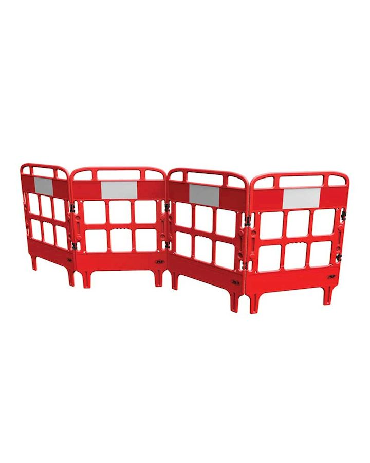 Folding Barrier - 4 Gate Portagate Manhole Barrier