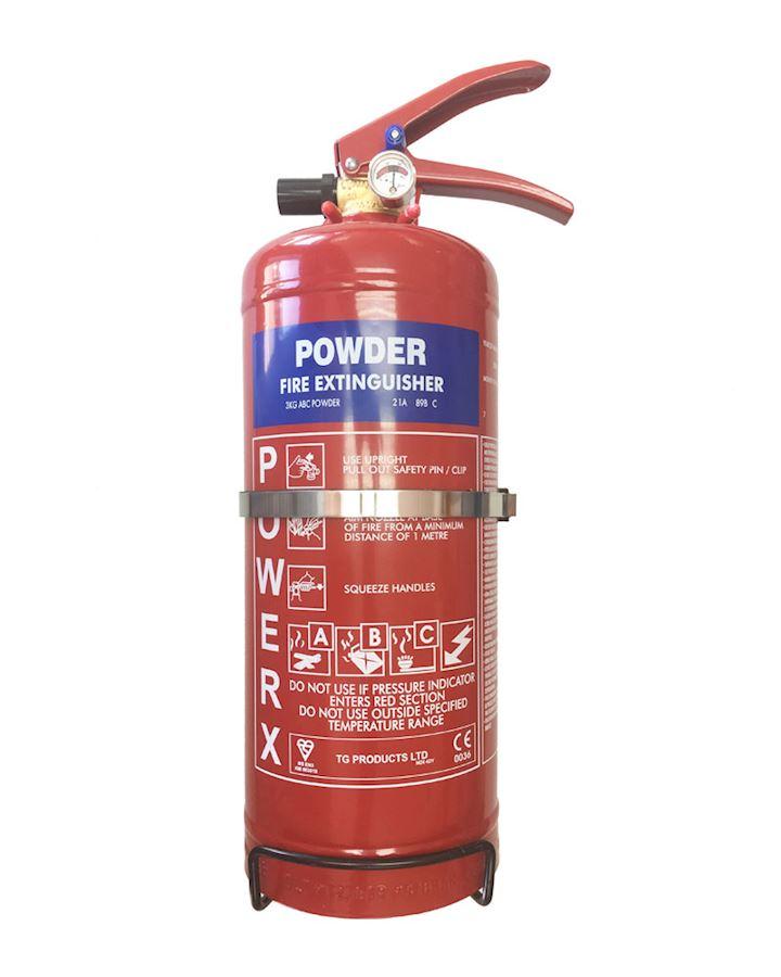3kg Dry Powder Fire Extinguisher  - PowerX