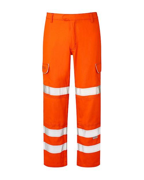 Flame Retardant Anti-Arc Hi - Vis Orange Combat Trouser