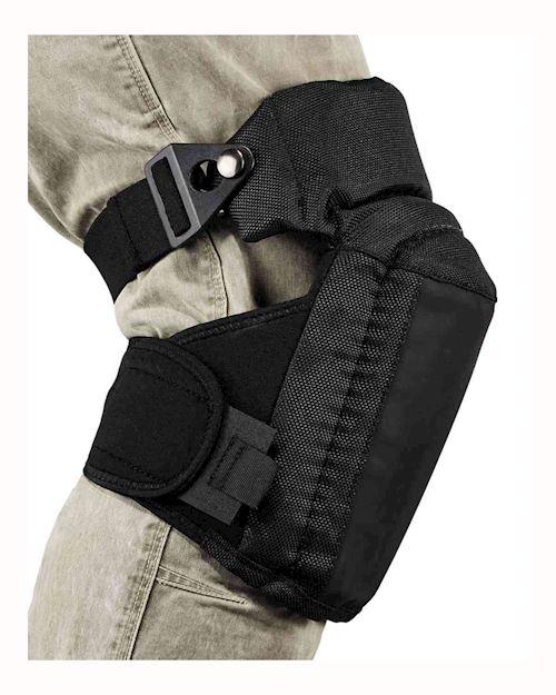 Hinged Slip Resistant Soft Cap Gel Knee Pads - ProFlex 450