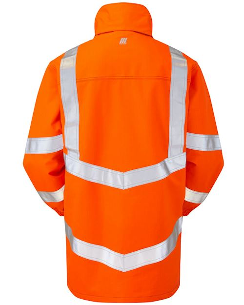 High Vis Flame Retardant AST ARC Storm Coat