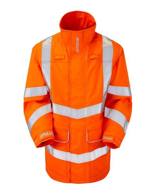 High Vis Flame Retardant AST ARC Storm Coat