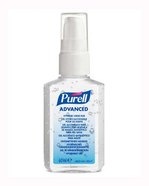 Purell Advanced Virucidal Hand Gel Sanitizer - 60ml
