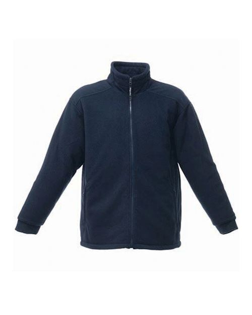 Navy Asgard 11 Quilted Zip Up Fleece
