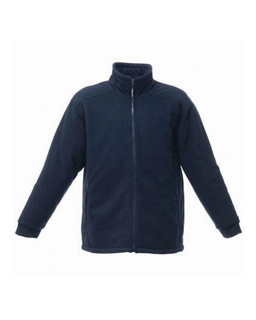 Navy Asgard 11 Quilted Zip Up Fleece