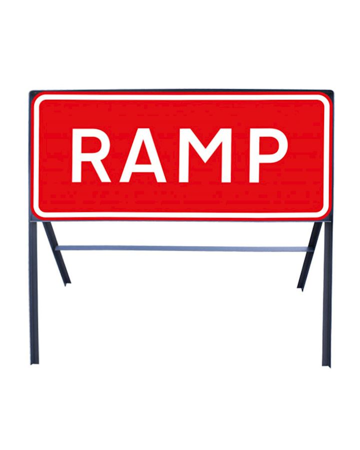 Ramp Metal Sign Chapter *Chapter 8 Red Book