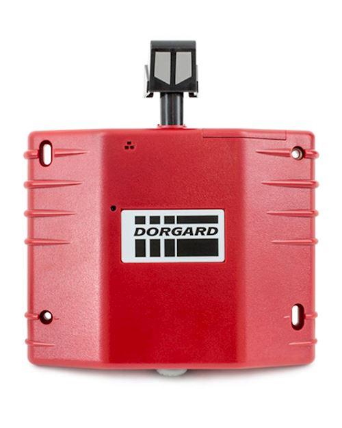 Red Fire Door Stopper - Retainer By Dorgard