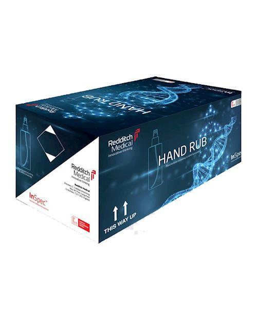 200ml 80% Alcohol Hand Rub Spray Bottle - Pack of 24