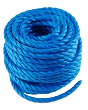 Blue  Polypropylene Rope Mini Coil 8mm X 30m