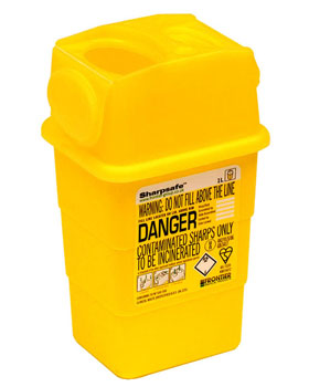 Sharps - Needle Disposal Bin 1L Capacity
