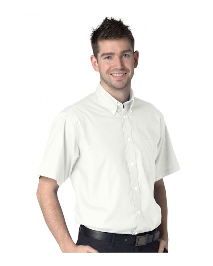 Short Sleeve Deluxe Oxford Shirt
