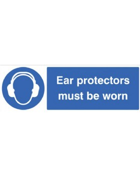 Ear Protectors Must Be Worn On Rigid PVC