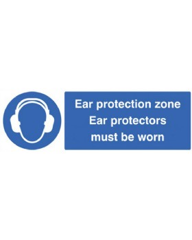 Eye Protection Must Be Worn On Self Adhesive Vinyl