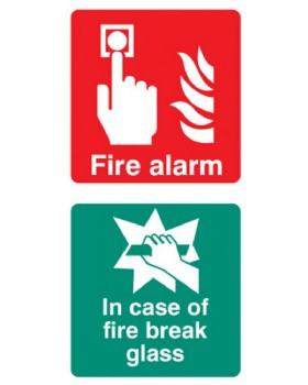 Fire Alarm: In Case Of Fire Break Glass