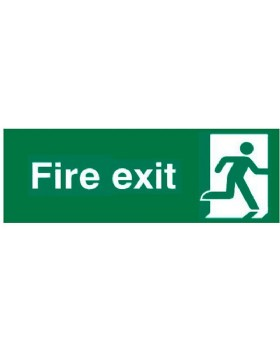 Final Fire Exit Right Sign Pictogram