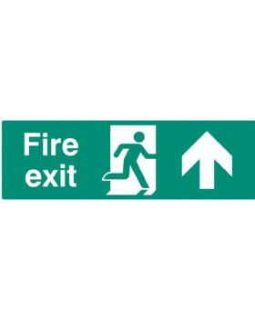 Fire Exit Up Sign
