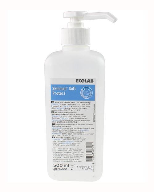 Skinman Soft Protect 12 x 500ml Fully Virucidal & Bactericidal Hand Rub