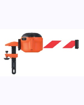 Skipper XS Barrier  Ratchet Clamp Mounting.
