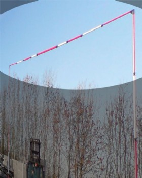 Solid Telescopic  Crossbar For Power Line Goalposts