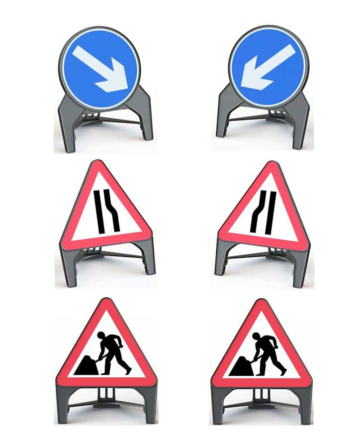 Chapter 8 Street Works Q Sign set
