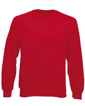 Fruit Of The Loom Classic Raglan Sweat Shirt