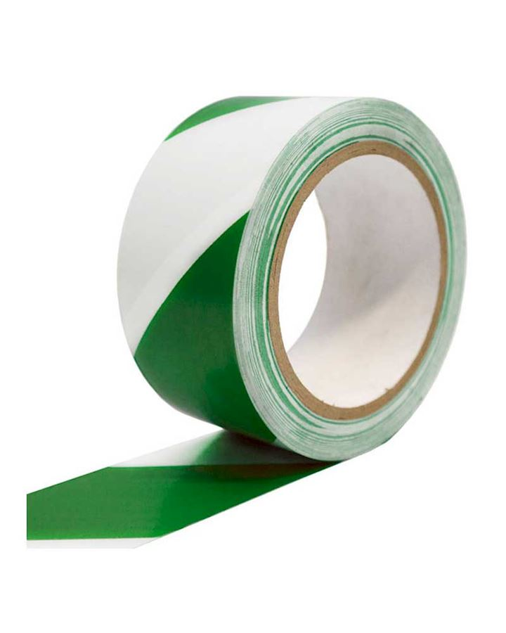 Green - White Adhesive Tape