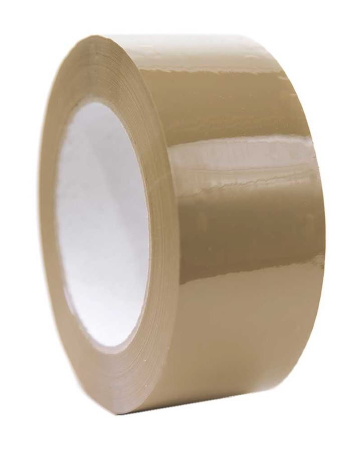 Buff PVC Packaging Tape