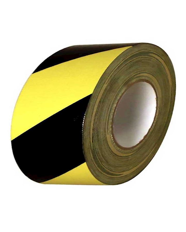 Yellow - Black Adhesive Tape For Hazard Warning