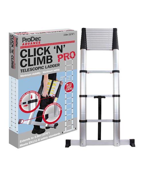 Telescopic Ladder 3.8m Extended
