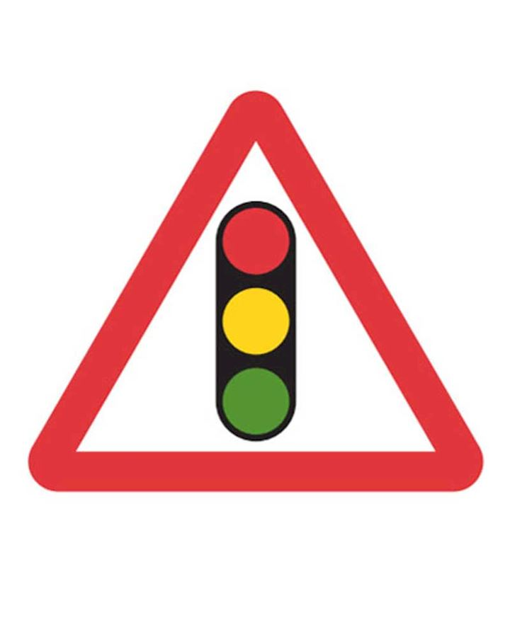 Temporary Traffic Lights Sign Chapter 8 Red Book