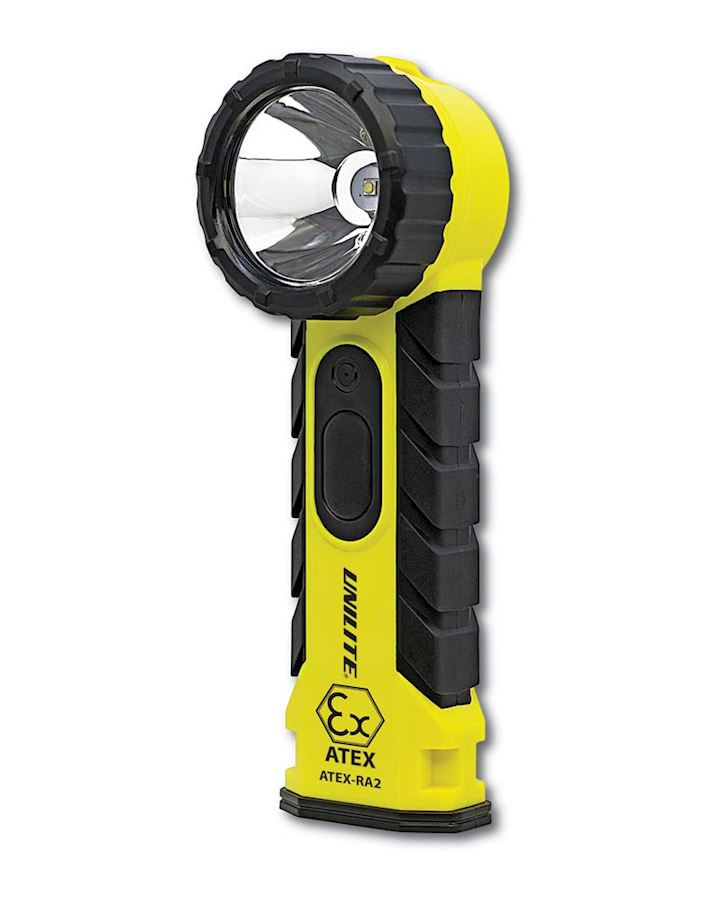 Right Angled Safety Torch Atex Approved Zone 0