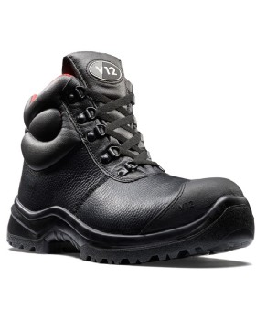V12 Rhino S3 Safety Boots With Scuff Cap And  Midsole