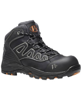 V8 S3 Aztec Black Safety Trainer Boot