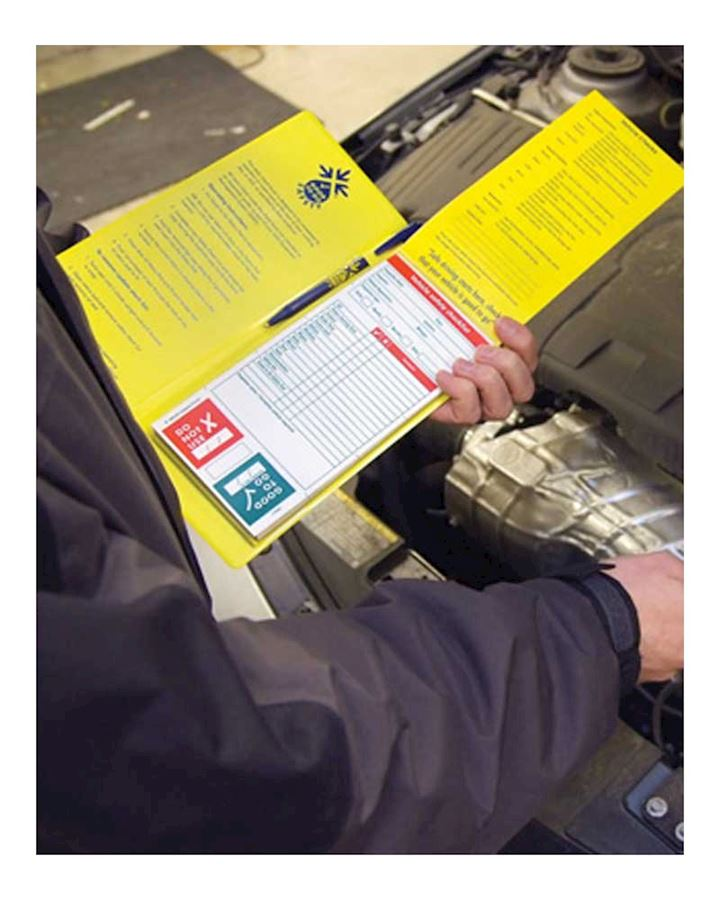 Vehicle  Inspection Record Pad - Booklet