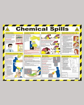 Chemical Spills Wall Chart