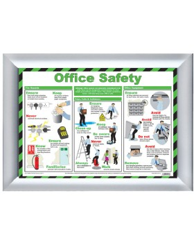 Safety In The Office Chart - Best Practice