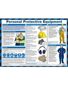 Personal Protective Equipment PPE In The Work Place Chart