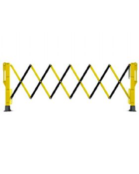 Titan Expander Expanding Barrier Yellow And Black