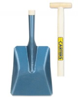 Carters No.2 Open Socket Square Mouth Shovel