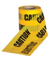 Caution Underground Electric Cable Tape