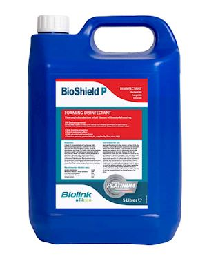 DEFRA Approved Liquid Disinfectant for bio-security mats